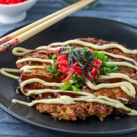 "Okonomiyaki and Book Nod for ""Rice Noodle Fish"""