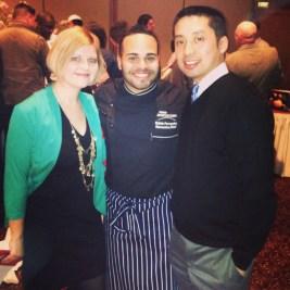 FP with Executive Chef Kelvin Fernandez at C-CAP Benefit