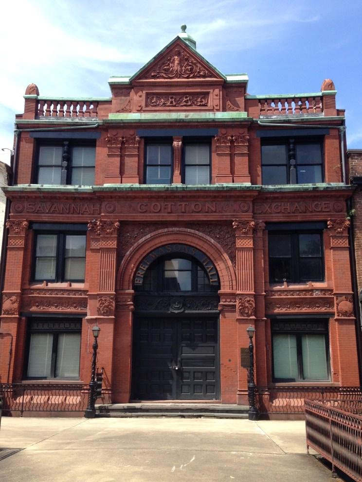 Old Savannah Cotton Exchange