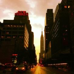 Gotta love NYC nights!