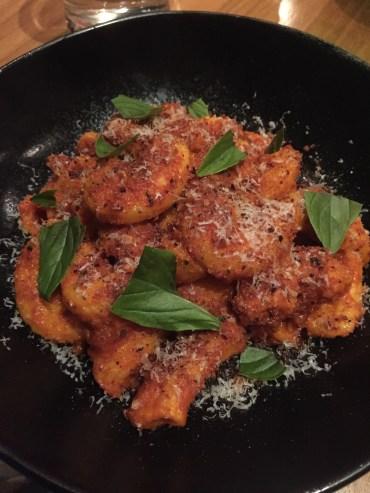 Rigatoni, 'nduja bolognese, parmesan