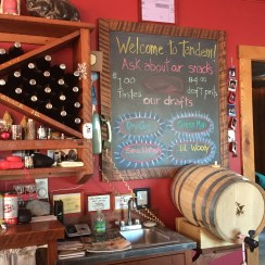 Great selections at Tandem Ciders!
