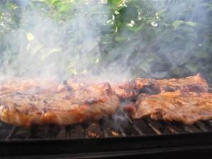 Grillede koteletter