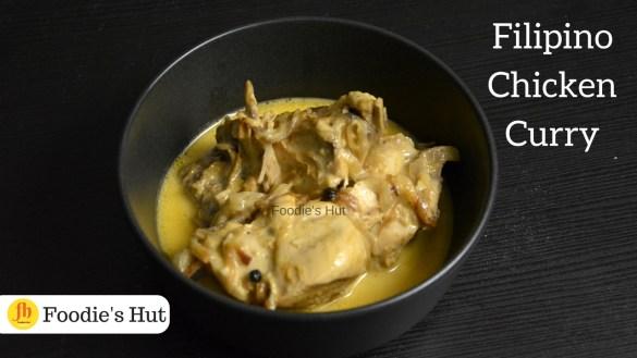 Filipino chicken curry - recipe by Foodie's Hut