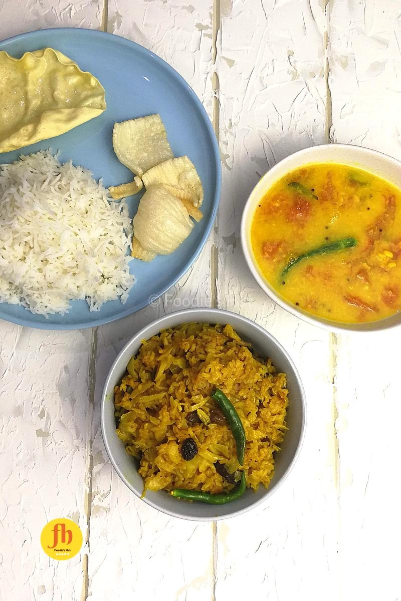 badhakopi chal diye layover recipe bu foodieshut