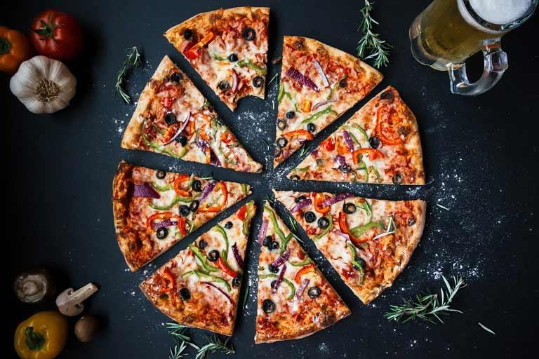 health benefits of pizza