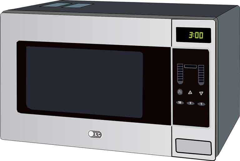 food warming microwave oven