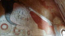 Sulamani Guphaya reclining Buddha mural
