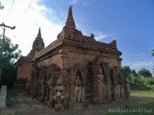 Unknown temple with beautiful statues