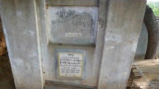 Shwe Gu Gyi Phaya stone marker
