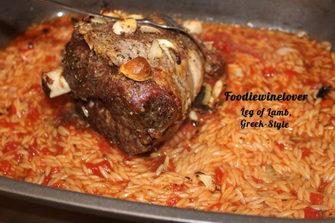 Leg of Lamb, Greek-Style