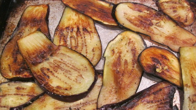 Broiled Eggplants