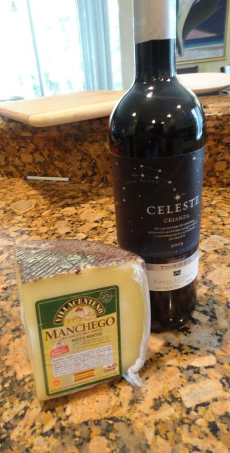 Manchego and Crianza