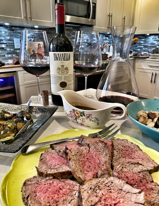 2017 Tignanello with Filet Mignon