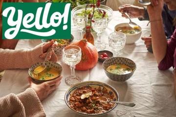 Yello servis za dostavu recepata i namirnica - meal kit