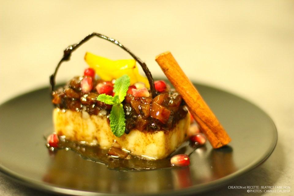 polenta-et-chutney-de-fruits-exotique