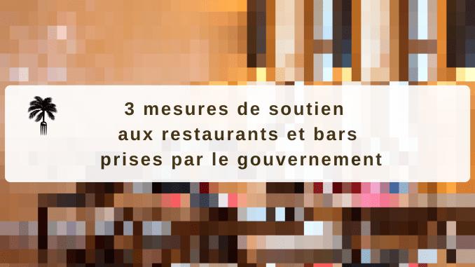 Mesures de soutien aux restaurants