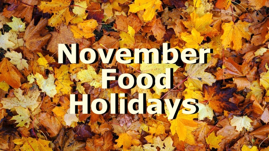 November Food Holidays