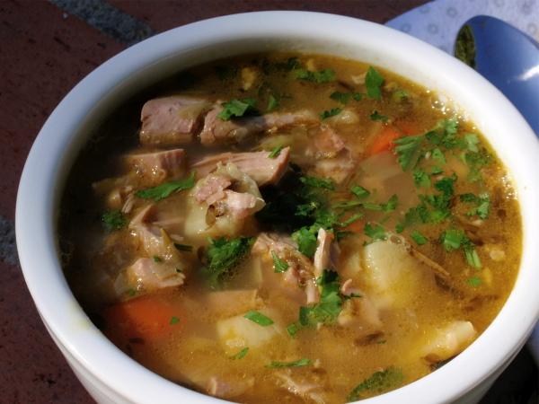 Turkey Neck Soup