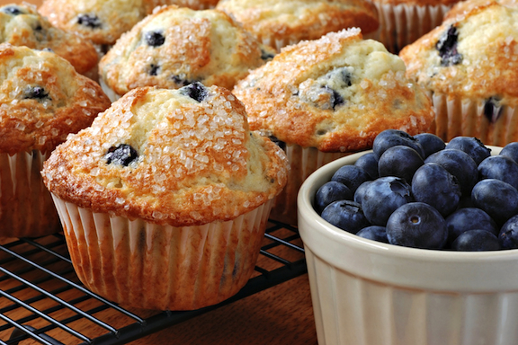 Blueberry Muffin day