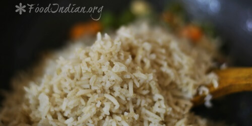 Fried Brown Rice (10)