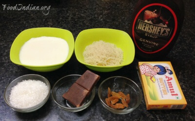 chocolate vermicelli delight 1