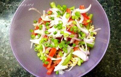 crispy noodles salad 10