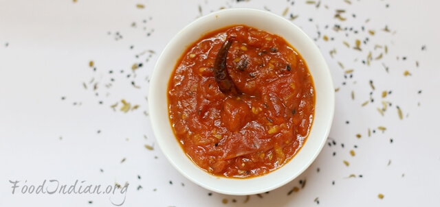 easy tomato chutney indian recipe (10)