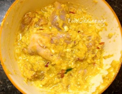 green papaya chicken curry 1