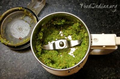 green pea paratha 3