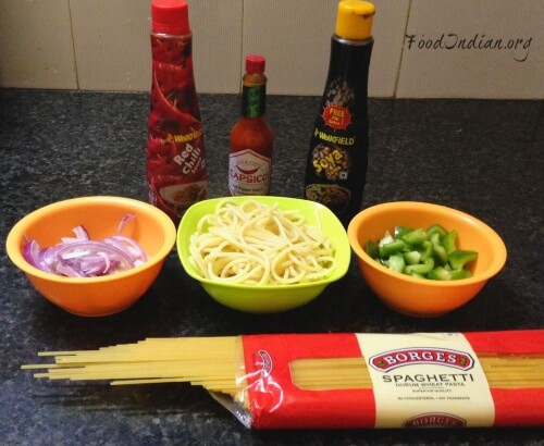 pasta with red sauce 1