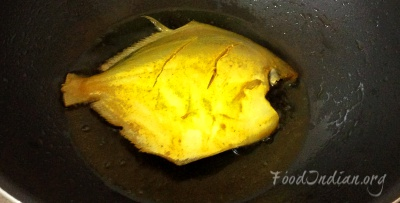 pomfret fish red curry 2