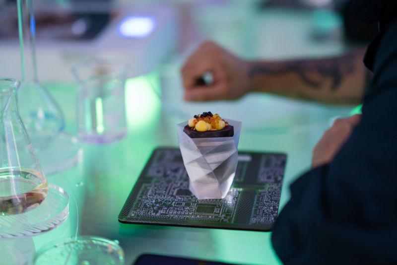 Élelmiszer tinta 3D élelmiszer