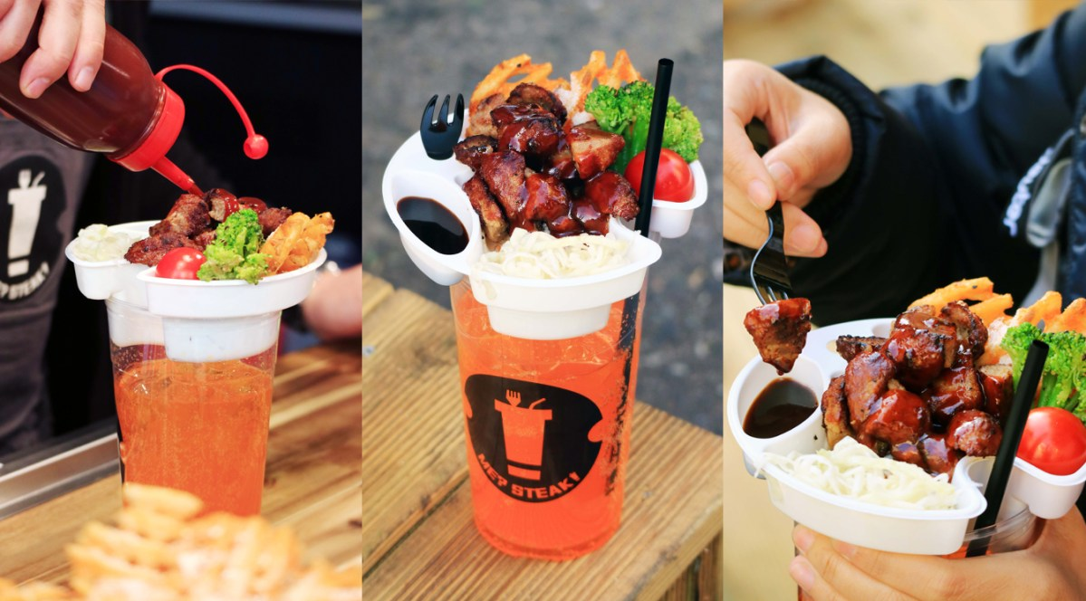[KOREA] ME? STEAK! STEAK & BEER IN A CUP - Hongdae, Seoul