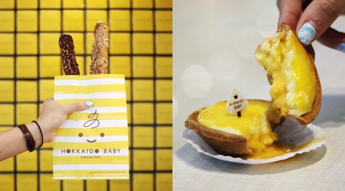 [NEW MENU] SALTED EGG CHEESE TART & CROQUANT CHOUX from Hokkaido Baby