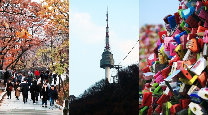 [KOREA] N SEOUL TOWER (남산서울타워) – Travel Diary