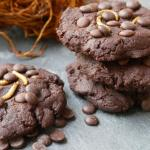 Chocolate Cookies mit Buffalowurmmehl