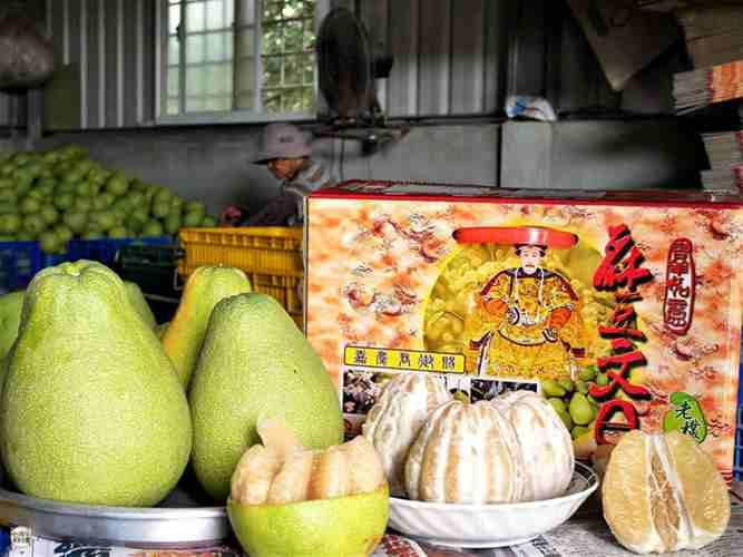 宅配美食》麻豆老欉文旦柚子哪裡買?怎麼挑?台南美食地圖分享讓你知道