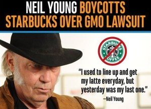 neil young and starbucks