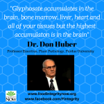 Dr. Don Huber: What We Know So Far About Glyphosate and GMOs