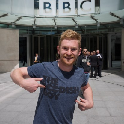 Foodish Boy at the BBC