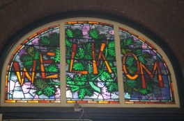 Stained Glass in Maastricht Station
