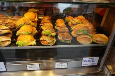 Sandwiches at Merzenich, Cologne