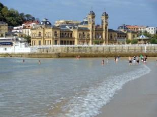 Concha beach