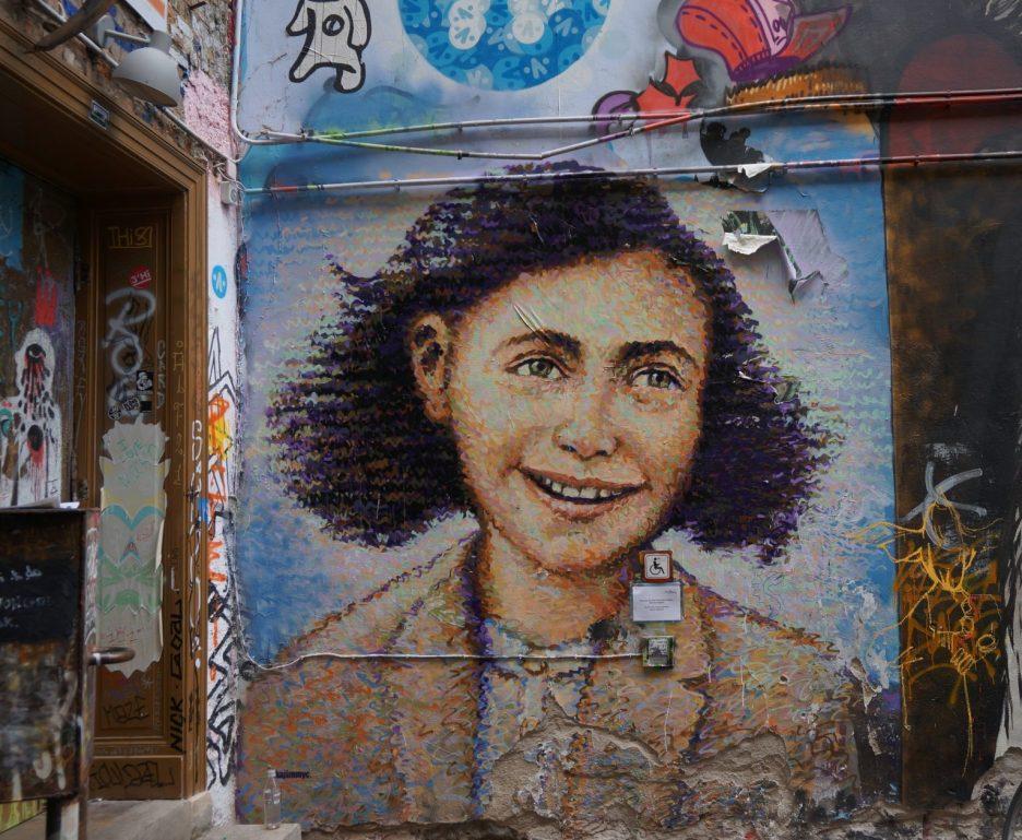 Jimmy C, at Anne Frank Zentrum