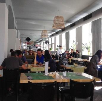 Lunch hour at Pasta e Basta