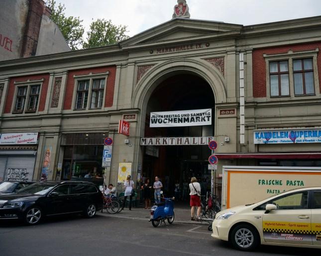 Entrance to Markethall IX in Kreuzberg