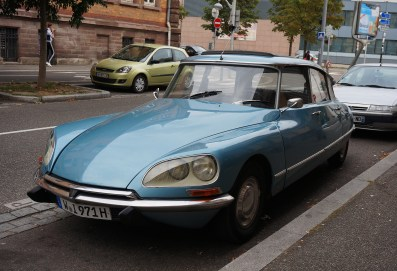 An aerodynamic Citroen DS