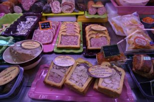Local charcuterie specialties