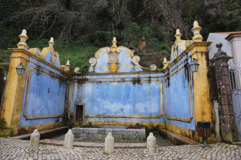 Fonte Sabuga, a public water source since 1757
